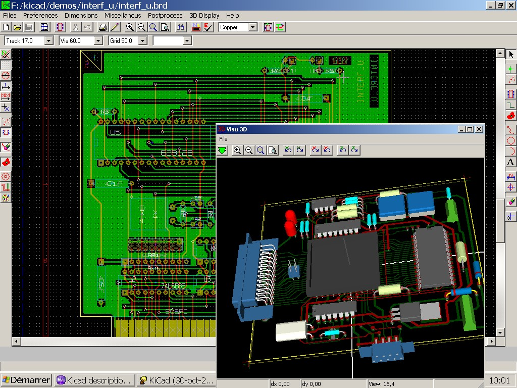 Screenshots Wxwidgets The Free Encyclopedia Electronic Circuit Design Software Kicad On Windows Is An Open Source Gpl Application For Designing Schematic